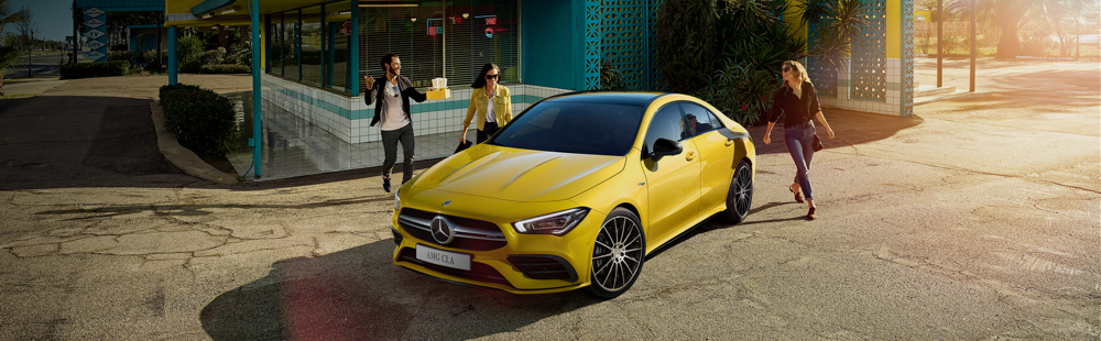 AMG CLA Coupé at G Brothers | Mercedes-Benz Dealer on Sydney's Northern Beaches