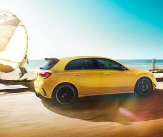 AMG A 35 hatch at G Brothers | Mercedes-Benz Dealer on Sydney's Northern Beaches