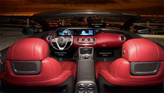 S-Class interior at G Brothers | Your Mercedes-Benz Dealer In Sydney