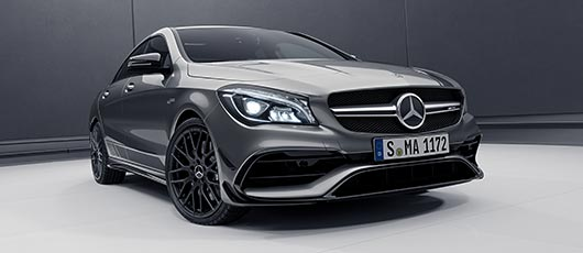 CLA45 Coupe AMG Night Edition at G Brothers Mercedes-Benz