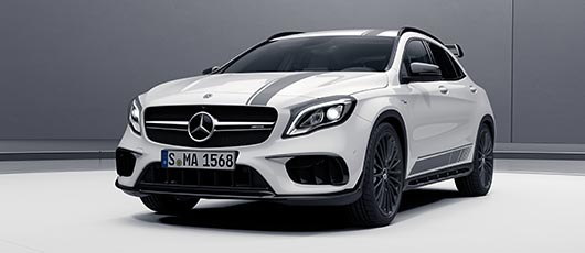 GLA45 AMG Night Edition at G Brothers Mercedes-Benz