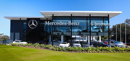 G Brothers New Car Showroom | Mercedes-Benz Dealer Sydney