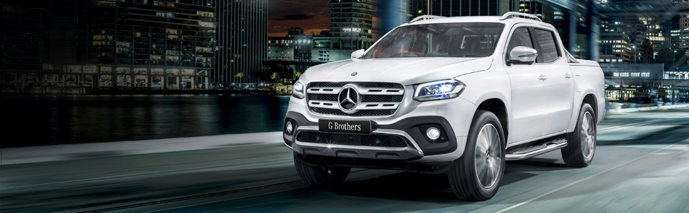 Mercedes-Benz X-Class Ute is now at G Brothers