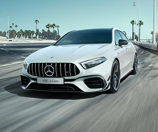 Mercedes-AMG A 45 S 4MATIC+ at G Brothers | Mercedes-Benz Dealer Sydney