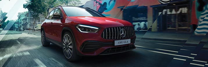 AMG GLA SUV at G Brothers | Mercedes-Benz Dealer Sydney