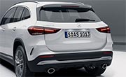 AMG GLA 35 SUV Exterior Design AMG Spoiler and Apron at G Brothers | Mercedes-Benz Dealer Sydney