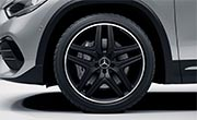 AMG GLA 35 SUV Exterior Design AMG Alloy Wheels at G Brothers | Mercedes-Benz Dealer Sydney
