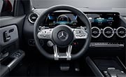 AMG GLA 35 SUV Interior Design AMG Steering Wheel at G Brothers | Mercedes-Benz Dealer Sydney