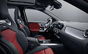 AMG GLA 35 SUV Interior Design Optional AMG Performance Seats at G Brothers | Mercedes-Benz Dealer Sydney