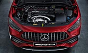 AMG GLA 35 SUV Performance AMG Turbo Engine at G Brothers | Mercedes-Benz Dealer Sydney