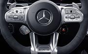 AMG GLB 35 7 Seat SUV Equipment | AMG Steering Wheel Buttons | G Brothers Mercedes-Benz Dealer Sydney