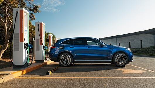 EQC Electric SUV Charging and Range at G Brothers | Mercedes-Benz Dealer Sydney